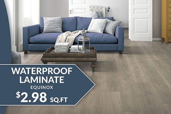 Equinox Waterproof Laminate Flooring starting at $2.98 sq.ft. at Floor Express in Tumwater